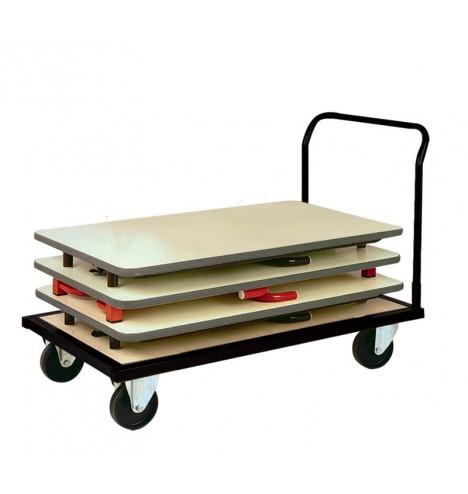 Chariots pour tables pliantes collectivités