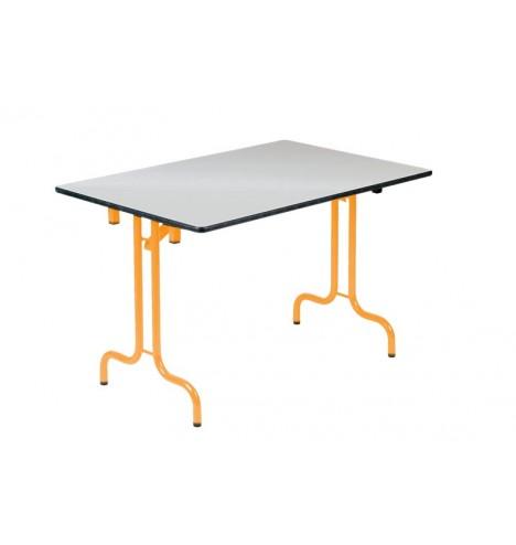 Table collectivité pliante Casa mélaminé 120X80