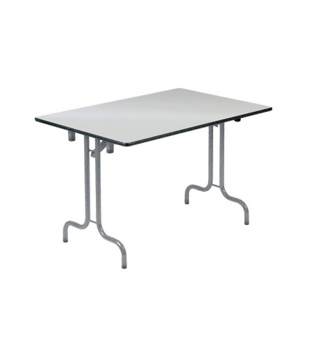 Table collectivité pliante Casa mélaminé 160X80