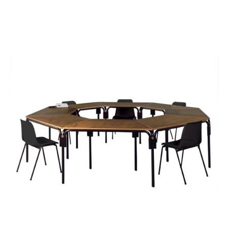 Table trapezoidale pour collectivité