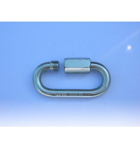 mousqueton chaîne anneau borne