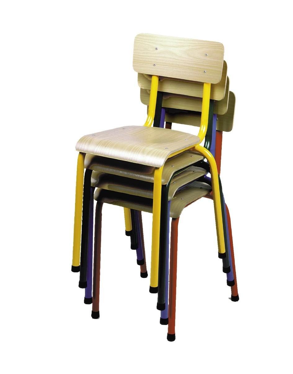 Chaise Ecolier Vintage Fabricant Francais Depuis 1967