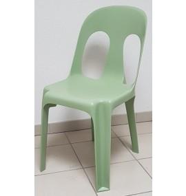 Chaise plastique Sirtaki mobilier collectivite vert amande