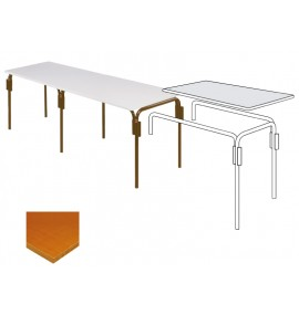 table rectangulaire multiplis mobilier collectivité