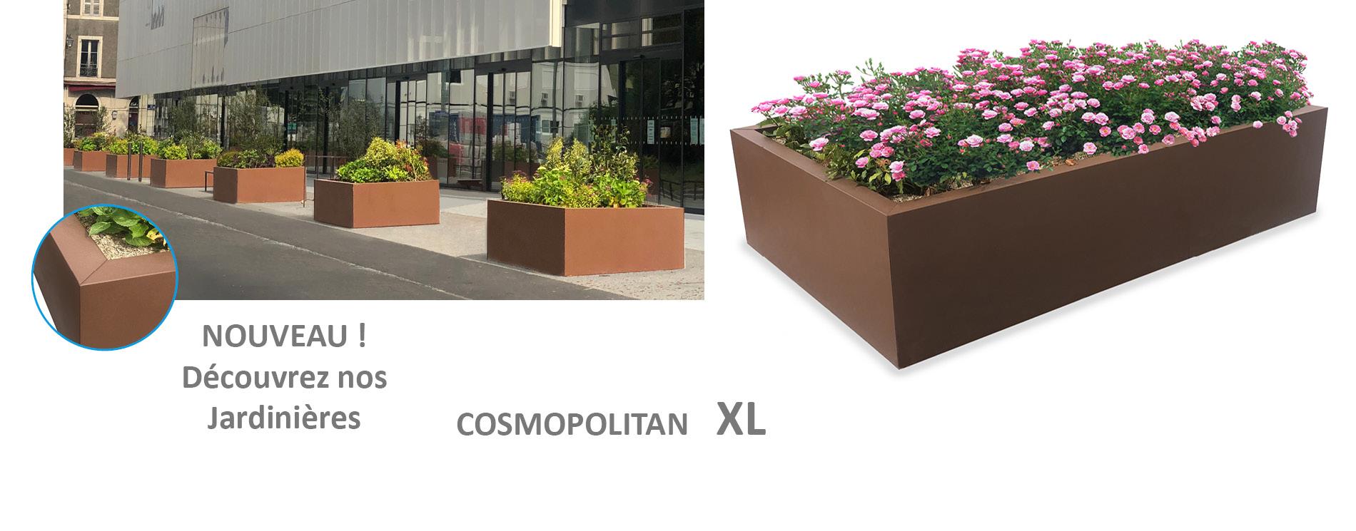 JARDINIERES Cosmopolitan XL